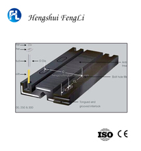 China fengli high strength neoprene elastomer rubber expansion joints bridge transflex expansion joint price