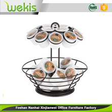 Wekis K Cup Holder K-cup Coffee Pod Holder, K Cup Holders Carousel Organizer 71057