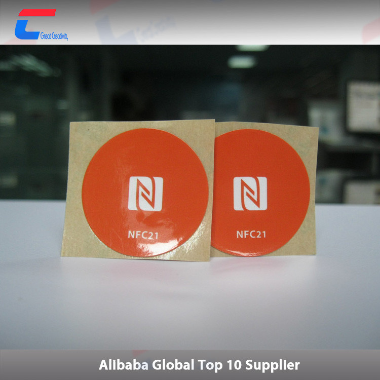 13.56Mhz RFID Smart recycled paper nfc label