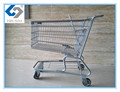 Custom 2017 New style supermarket shopping trolley cart for sale