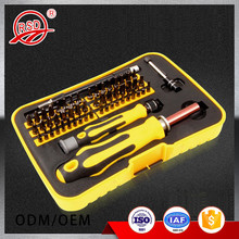 Portable magnetic hand tool Ratcheting 57 Piece Multi-Bit Screwdriver Set
