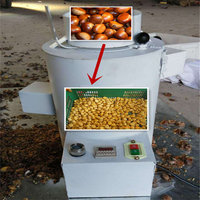 Good quality chestnut peeler machine / chestnut peeling machine for sale