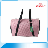Pink color soft pet products portable pet carrier bag