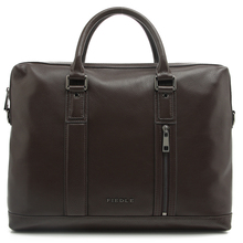 Cowhide pebble leather briefcase real leather mens business bag laptop bag portable mens vintage leather office bag with strap