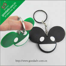 2017 new promotional products mini cartoon plastic keychain
