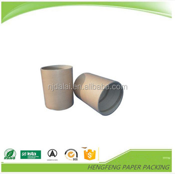Colorful high quality waterproof cardboard round box packaging in China