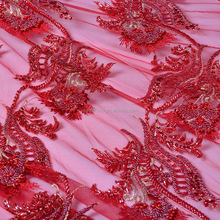 3d flower bridal lace fabric for wholesale price nice quality mesh embroidery lace for dress
