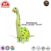 long neck cute vinyl soft Dinosaur Brachiosaurus toys for boys girls