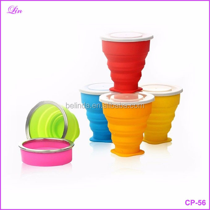 Cup Convenient Collapsible Coffee Tea Mug Silicone Travel Outdoor Camping Portable Cup