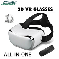 2016 Hot virtual reality ABS Plastic glasses 3D VR BOX Bluetooth & Gamepad controller 3d vr glasses