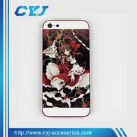 2014 Hot selling replacement parts for iphone 5 back cover housing