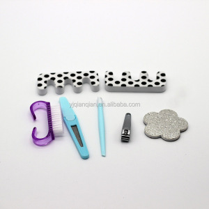 Hot sale simple promotion manicure set / nail care tools set kits