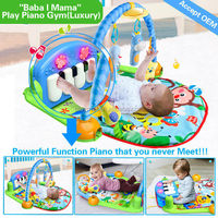 AZO EN71 6P ROHS HX9105 cheap,soft and safety baby play mat activity gym