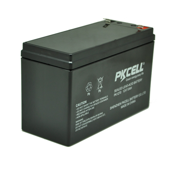 PKCELL inverter batteries 12v 7ah sealed lead acid battery storage batterie