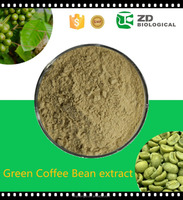 Hot green arabica coffee beans extract for weight loss