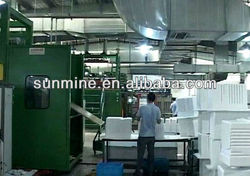 Top ranking Four i-station refrigerator vacuum plastic thermoforming machine for door inner liner
