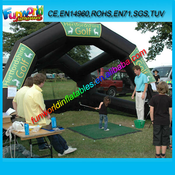 New Product Inflatable Golf Net, Inflatable Golf Tent, Golf Sport Game For Sale (FUNSP1-112)