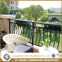 Best Handrail Project Manufacturer Customized Indoor/Outdoor Terrace metal/ aluminum Balcony Railing Designs