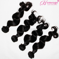 2016 Alibaba Express raw real Unprocessed 100% Virgin Peruvian Wavy Hair
