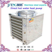 Instant Air source Stainless steel Air To Water Direct Hot Water Heat Pump 7-110kW Juteng High COP