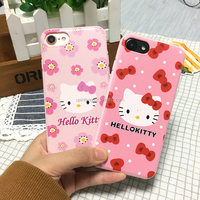 hello kitty phone case for iphone 7,hello kitty silicone colorful mobile phone case for iphone 7,hello kitty phone case