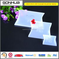 Various Styles Delicate Low-cost Well-wrapped Transparent Boxes Plastic PP Frosted Pillow Packaging for Gifts