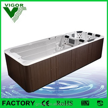 2017 Factory popular outdoor garden whirlpool air combo massage large swim spa pool