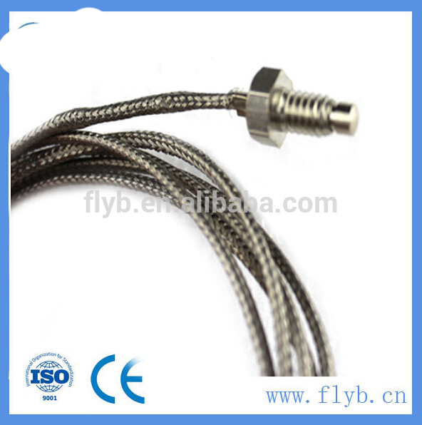 screw type thermocuple high temperature thermocouple for molten aluminum industry temperature sensor