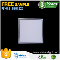 square hanging decorative light led panel 62x62 ceiling lamp
