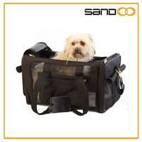 Supplier popular small dog carry stylish soft sided pet carrier