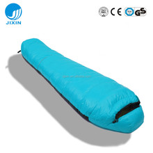 Portable Warm High Quality Duck Down Mummy Sleeping Bag for camping