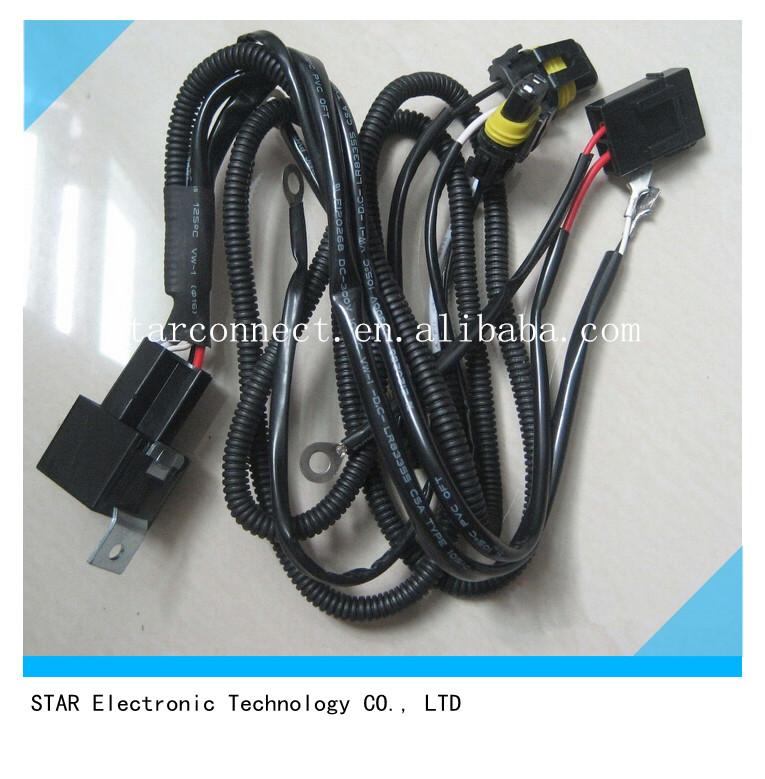universal hid h1 xenon relay wire harness manufacturer