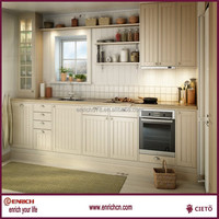 Colorful Standard size PVC kitchen cabinet customized furniture free design