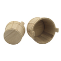 good raw material Solid wooden bucket set for sale