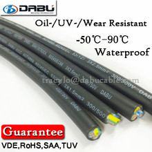 Professional Test PVC&Rubber Cable For SAA Led Downlight Cable