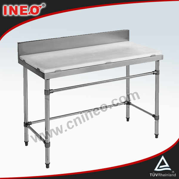 commercial metal adjustable kitchen worktable/warehouse work tables/industrial work tables