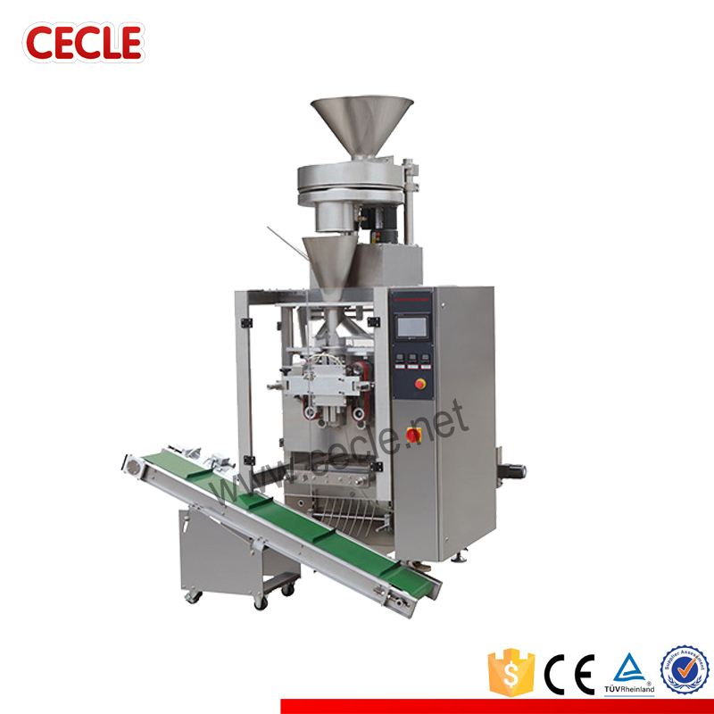 Semi-automatic vertical automatic dry food packing machine