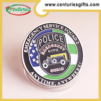 Custom NYPD police coin, various designs are accepted