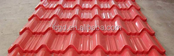 2014 Hot and New Arrival Metal Building Material Roof and Wall Cladding Material Prepainted Corrugated Steel Sheet