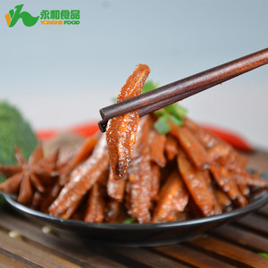 Yonghe 13g/bag Handmade Hot and Spicy Fish Gourmet Popular Wholesale Snack Food