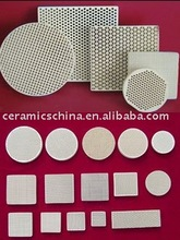 High quality honeycomb ceramic plates and industry ceramic