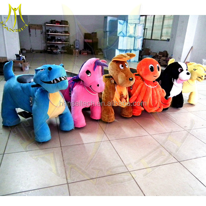 Hansel indoor amusement rides electric ride on animals mini amusement park ride