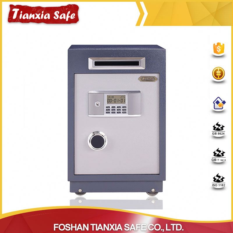 manufacture electronic lock coin safe cash box with high security