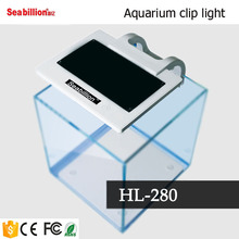 HL-280 led aquarium clip light for glass fish tank glass