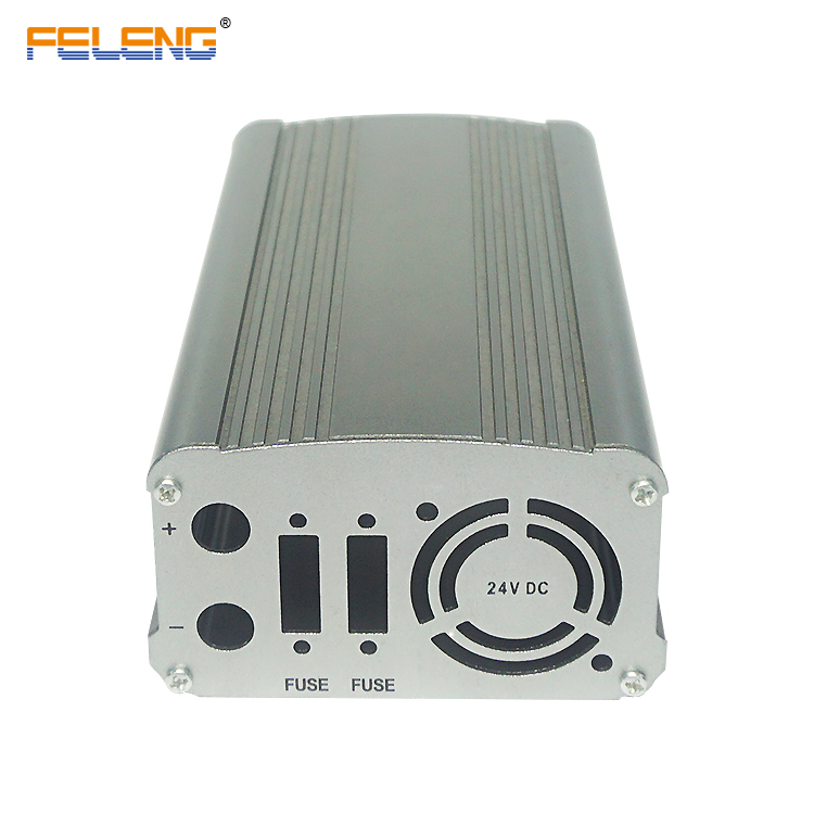 extruded aluminum electronic din case metal electrical junction box ip67 led driver enclosure