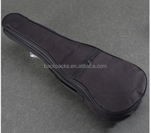 Acoustic Guitar Bag Case black Ukulele Bag Holder With Double Padded Straps 17 30 Inch Convenient Music