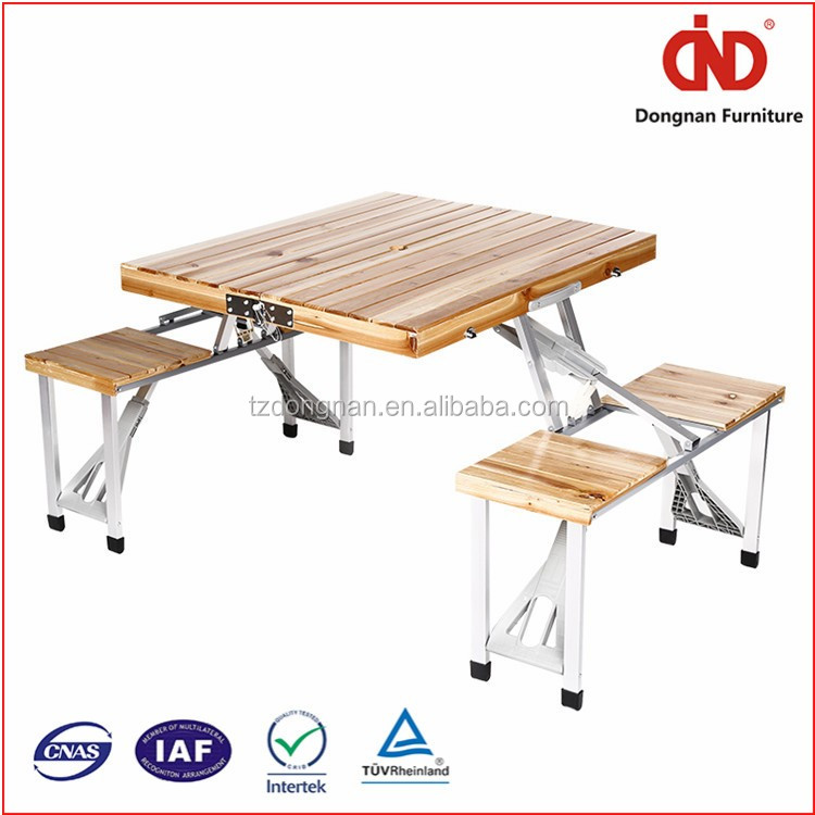 factory wholesales cheap 100% test outdoor picnic table and bench
