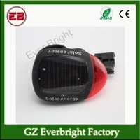 Solar Energy Led Warning Lamps bicycle parts ,bicycle light ,bicycle led light