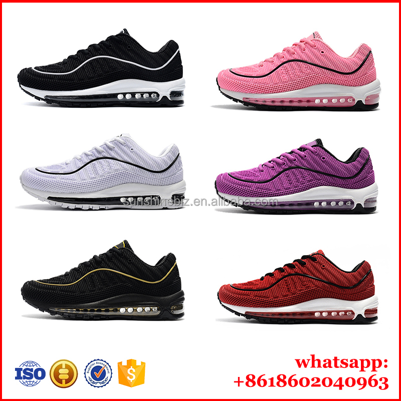 Max Color high quality full air cushion Sports shoes 98 series Plastic drop running shoes