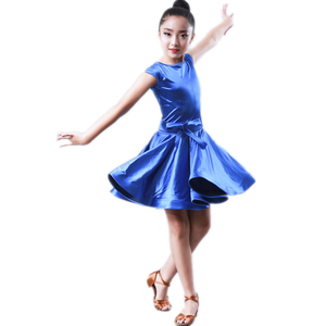 Hot Sale Elegant Girls Latin Dance Dress Performance Wear One Piece Dance Wear